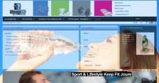 Website van Sport & Lifestyle Keep Fit Joure gerestyled